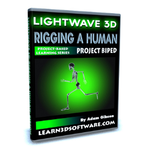 Lightwave 10 Rigging a Human | Software | Training