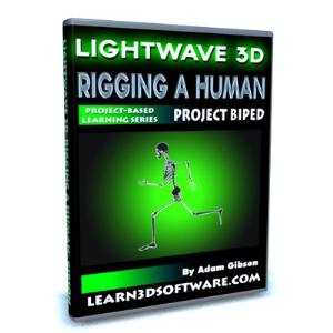 lightwave 10 rigging a human