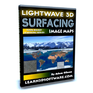 Lightwave 10-Surfacing for Beginners Volume #3-Image Maps | Software | Training