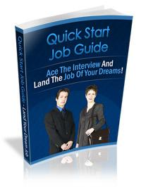 quick start job hunting guide with private labels rights