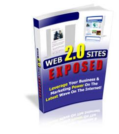 Web 2.0 Sites Exposed  With Private Labels Rights | eBooks | Internet