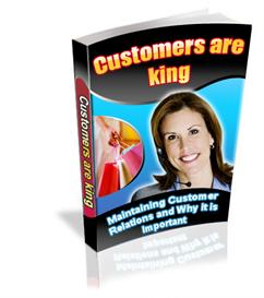 customers are king ebook with private labels rights