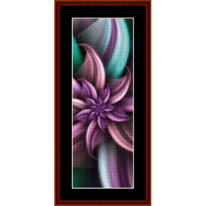 Fractal 257 Bookmark by Cross Stitch Collectibles | Crafting | Cross-Stitch | Other