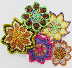 Button Brooches Pattern | eBooks | Arts and Crafts