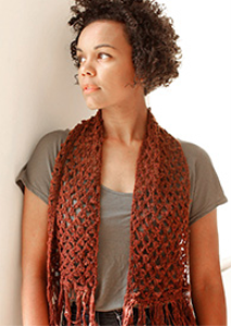 Picot Lace Scarf | Crafting | Crochet | Other