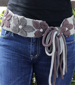 sash-a knitted belt pattern