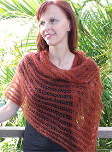 featherweight shawl or scarf pattern