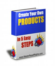 Create Your Own Product In 5 Steps With Private Labels Rights | eBooks | Internet