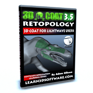 3D Coat 3.5 for Lightwave Users-Retopology | Software | Training
