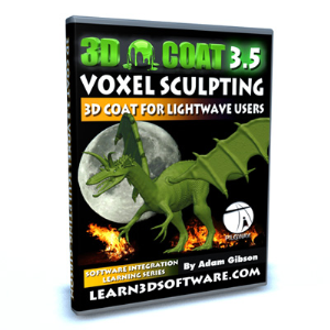3D Coat 3.5 for Lightwave Users-Voxel Sculpting:Project Dragon | Software | Training