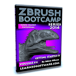 ZBrush Bootcamp Series Volume #4-Getting Started IV | Software | Training