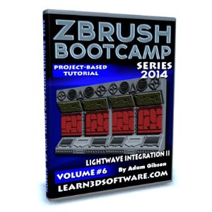 ZBrush  Bootcamp Series Volume #6-Lightwave Integration II | Software | Training