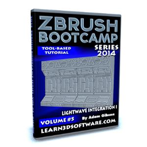 zbrush  bootcamp series volume #5-lightwave integration i