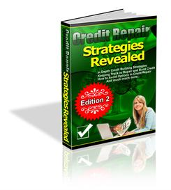 Credit Repair Strategies Revealed - With Private Labels Rights | eBooks | Business and Money