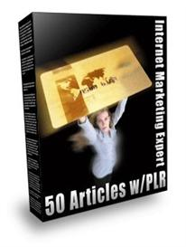 50 PLR Articles | eBooks | Internet