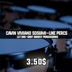 cavin viviano sosumi-like percussions