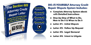 Credit Repair Letter | Documents and Forms | Letters