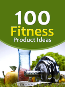 100 fitness product ideas with mrr