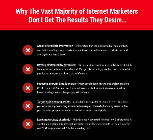 why people dont succeed in internet marketing.vol2
