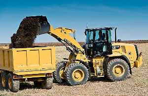 cat wheel loader 908m