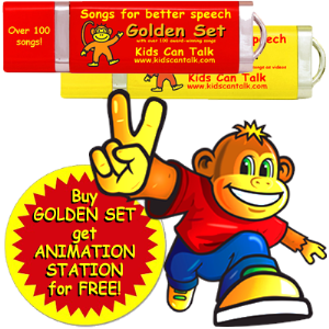 golden set by kids can talk