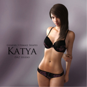 genesis 3 female shapes: katya