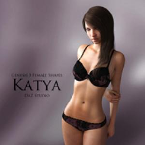 Genesis 3 Female Shapes: Katya | Software | Design