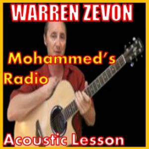 learn to play mohammed's radio by warren zevon