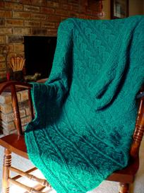 Warm Hearts Comfortghan knitting pattern - PDF | Other Files | Arts and Crafts