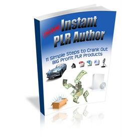 Instant PLR Author - with Private Label Rights | eBooks | Business and Money