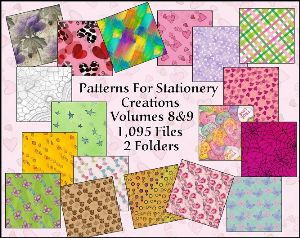 paint shop pro patterns vol 8 - 9 made by sophia delve