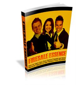 Firesale Essence !How to Start Your Own Online Firesale and Raise Mass | eBooks | Arts and Crafts