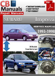 Subaru Impreza 1993-1998 Service Repair Manual | eBooks | Automotive