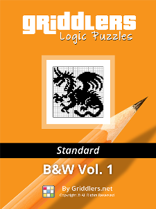 griddlers logic puzzles - standard - black and white, vol. 1