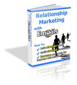 Relationship Marketing with Emails - With Private Labels Rights | eBooks | Internet