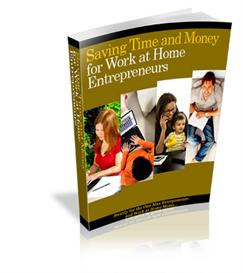 Saving Time and Money for Work at Home Entrepreneurs - With PLR | eBooks | Internet