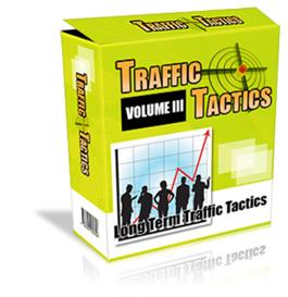 traffic tactics volume #3 with  private labels rights included.