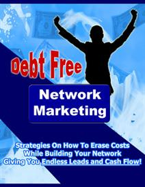 Debt free network marketing | eBooks | Internet
