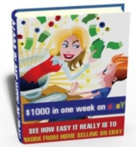 $1000 in a week on ebay