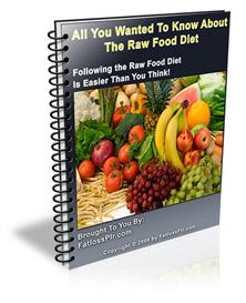All You Wanted To Know About The Raw Food Diet - Master Resale Rights | eBooks | Food and Cooking