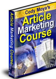 Article Marketing Course With Master Resale Rights | eBooks | Internet