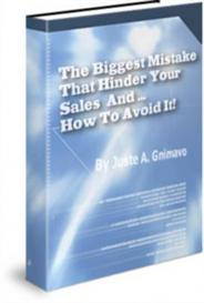 the biggest mistake that hinder - with master resale rights