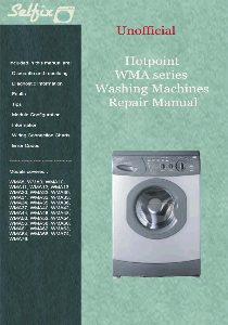 Service & Repair manual for Hotpoint WMA washing machines | Documents and Forms | Manuals
