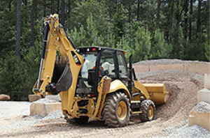caterpillar backhoe 420f2