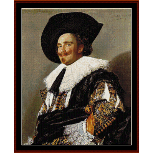The Laughing Cavalier - Frans Hals cross stitch pattern by Cross Stitch Collectibles | Crafting | Cross-Stitch | Wall Hangings