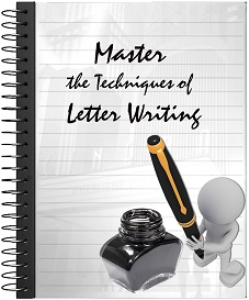 learn to master the techniques of letter writing