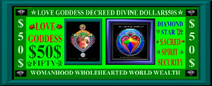 Love Goddess $50 Divine Decree | Photos and Images | Digital Art