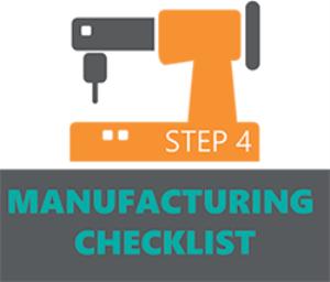 manufacturing checklist