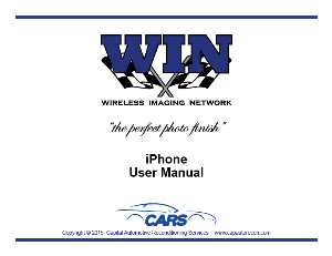 WIN iPhone User Manual | Documents and Forms | Manuals