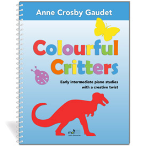 Colourful Critters, piano (private studio license) | Music | Children
